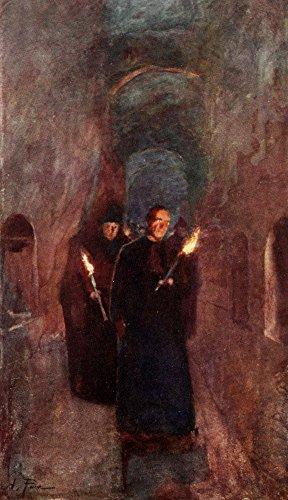 Rome 1905 Procession in the Catacomb of Callistus Poster Print by Alberto Pisa (24 x 36)