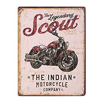 Amazon.com: Indian Motorcycle nuevo OEM Scout motorycle Sign ...