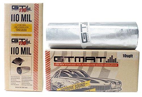 10-sqft-gtmat-supreme-110mil-roll-12-x-10-car-truck-panel-deck-door-automotive-audio-sound-deadener-