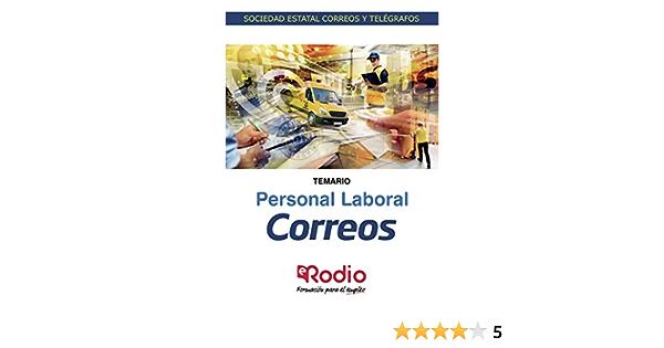 Correos. Personal Laboral. Temario: Sociedad Estatal Correos y Telégrafos: 1 Oposiciones: Amazon.es: autores, Varios: Libros