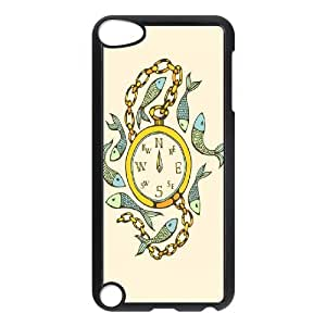 YNACASE(TM) Compass Cheap Phone Case for iPod Touch 5,DIY Case with Compass
