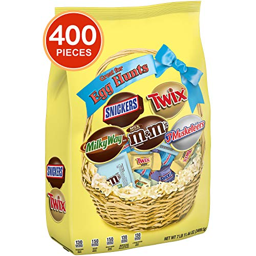 MARS Chocolate Easter Stand Up Pouch, Mixed, 123.44 -