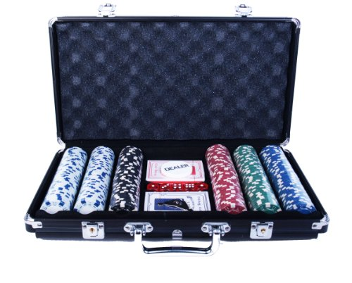 (300 Chip Poker Game Set)