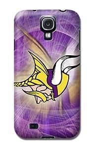 Personalized Monogram Samsung Galaxy S4 Case Samsung Galaxy S4 pc hard Back Cover Minnesota Vikings Football Nfl