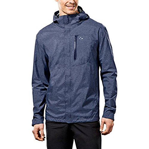 Paradox Men S Elite Waterproof Rain Jacket Xxlarge Blue