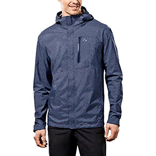 Paradox Men S Elite Waterproof Rain Jacket Xxlarge Blue