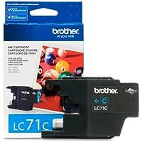 Brother Printer LC71C Standard Yield Cyan Ink