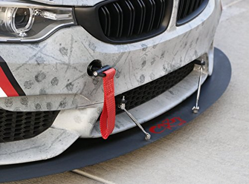 Ijdmtoy 1 Track Racing Style Tow Hook W Red Towing