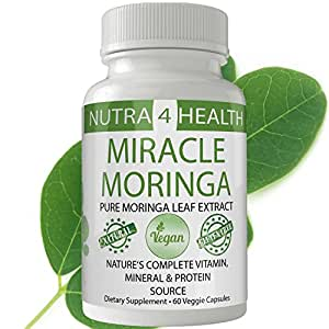 Moringa Oleifera Leaf 20:1 Organic Extract