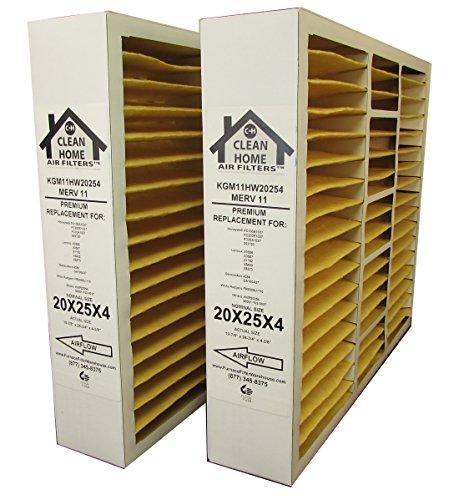 honeywell 20x25x4 merv 11 - 6