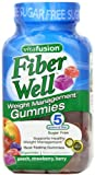 Vitafusion Fiber Gummies Weight Management, (Sugar-Free Fiber Gummies) New Super Size Package 360 Count