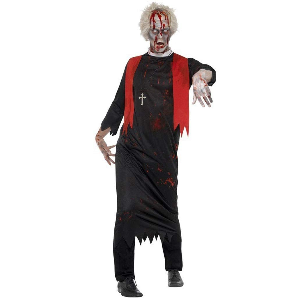 KODH Disfraz de monje clásico de pareja de Halloween Festival de ...