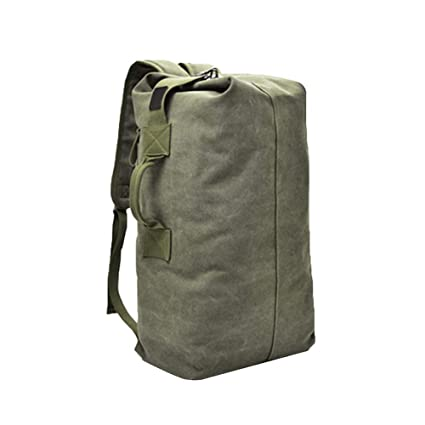 Image Unavailable. Image not available for. Color  Stylish Vintage Canvas Travel  Rucksack 677af0d01c7e6