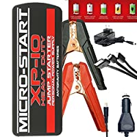 Anti-Gravity MICRO START XP-10HD HEAVY DUTY Car and DIESEL 650 Amp Jump Starter, 18000 mAh Power Bank and Flashlight with Carrying Case