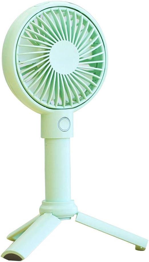 Mini Fan USB Fan Portable Handheld Fan 3 Speed Mini USB Handy Small Desktop air Condition USB Cooling Fan Cooler for Home,Blue