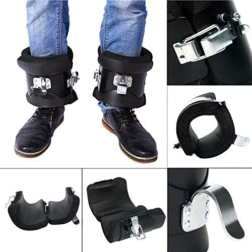 YaeTek Anti Gravity Inversion Hang Up Boots Inversion Boots Gravity Compression Relief Exercise Recovery