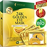Under Eye Mask Gold Eye Mask Anti-Aging Hyaluronic Acid 24k Gold Eye Patches