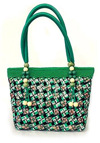 Tote Handbag Womens Shoulder Bag Casual Signature Printing