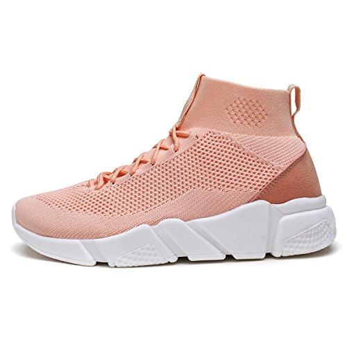 Dröm Par Nya Mode Kvinna Lady Lätt Promenad Slip-on Lätta Fritids Komfort Dagdrivaren Skor Gymnastikskor 170.845-pink Sakura