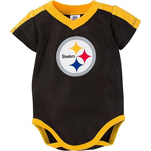 8d2d73cfe NFL Pittsburgh Steelers Unisex-Baby Dazzle Bodysuit