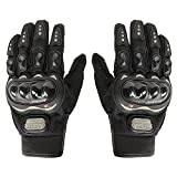 AllExtreme Pro Biker Full Racing Biking Driving Motorcycle Gloves - Black XL