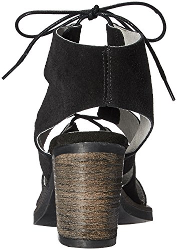 Leather Bos Co Sandal Brooke Suede Black Fisherman amp; Womens z8qZ5z