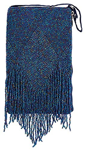 Bamboo Trading Company Cell Phone or Club Bag, Midnight Fringe
