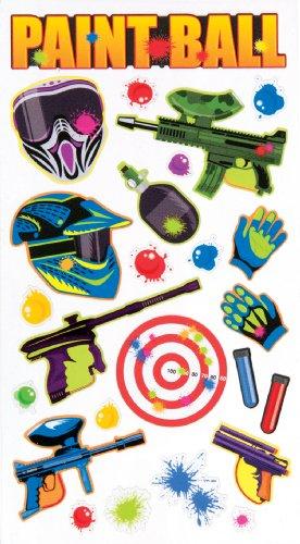 EK Success Brands Decorative Sticko Stickers, Paint Ball
