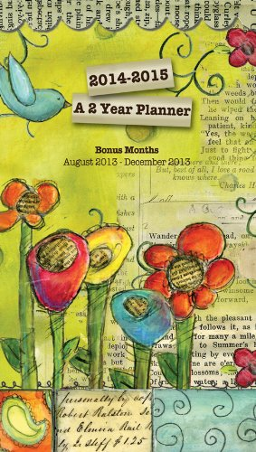 Perfect Timing - Lang 2014 Color My World 2-Year Planner,...