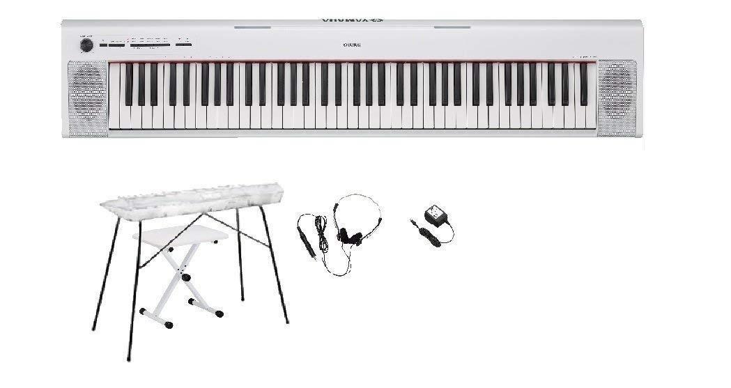 宅配便配送 YAMAHA ヤマハ 電子ピアノ NP-32 電子ピアノ WH NP-32 専用スタンドヘッドホンイスクリーナークロスセット ヤマハ ヤマハ(NP32白)ホワイトB06WLR5KYR, D-STIMMER:29d0cf11 --- a0267596.xsph.ru