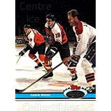 Mike Ricci Hockey Card 1991-92 Stadium Club Proof #386 Mike Ricci