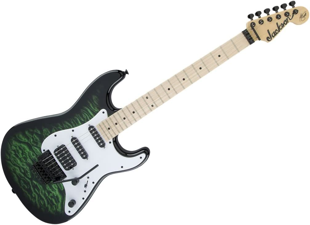 Jackson X Series Adrian Smith San Dimas sdxq Trans Green ...
