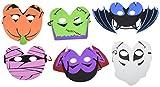 Foam Halloween Masks – 12pk