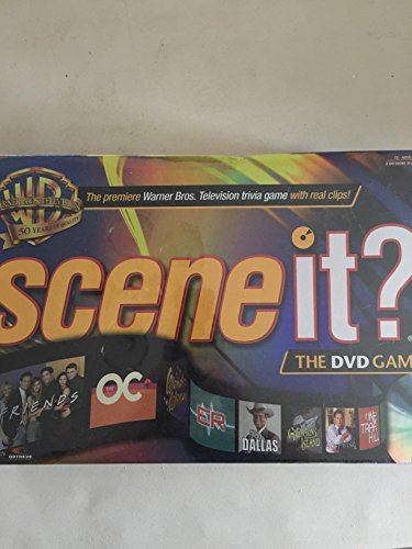 SCENE IT - WB Warner Bros 50th Anniversary DVD Game with Real Clips on the Trivia by Scene It