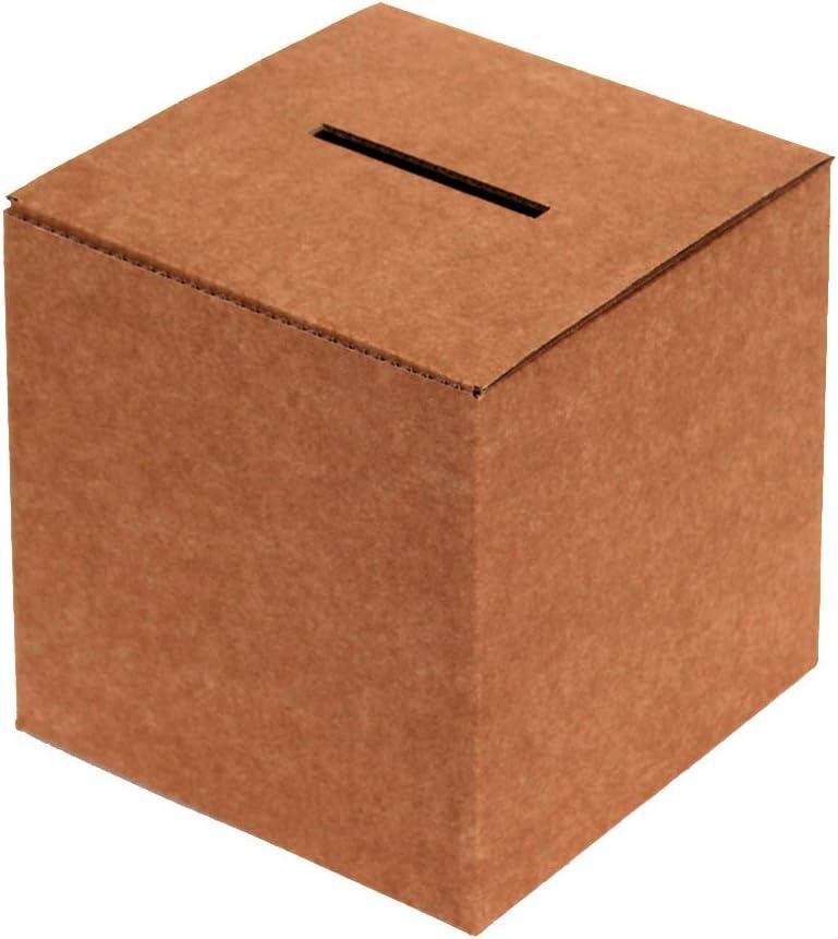 Kartox   Urna de Cartón para Votaciones o Eventos   Caja de Cartón para Sugerencias o Buzón   35x35x35: Amazon.es: Oficina y papelería