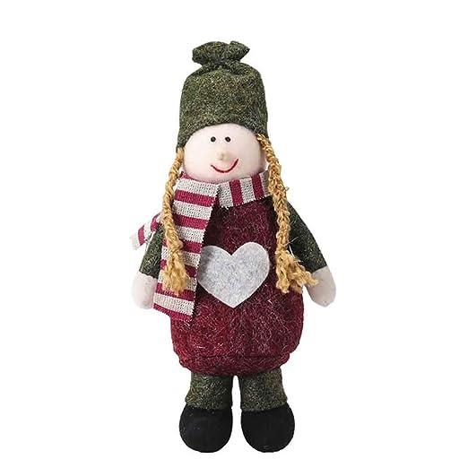HOLD HIGH Adornos de Navidad para árboles, muñeca de Feliz Navidad ...