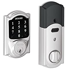 Schlage BE468 Touchscreen Deadbolt is the newest version of the BE460 series. This listing includes a second matching key instead of one. The matching key is provided by the third-party seller. This model is compatible with many popular Z-wav...