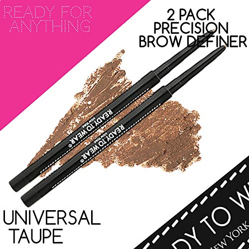 Ready To Wear 2 PACK PRECISION BROW DEFINER Brow Artist (UNIVERSAL TAUPE)