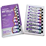 Mont Marte Metallic Acrylic Paint Set 8 Piece x 18