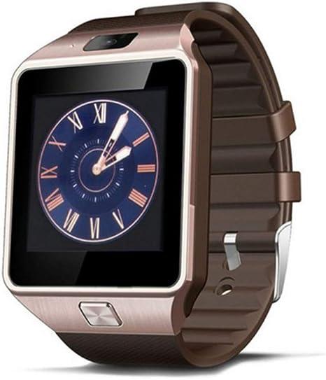 JingJingQi Reloj Inteligente Smartwatch DZ09 Reloj Inteligente ...