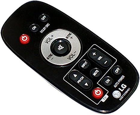 Genuine LG AKB73598401 Barra de sonido Control remoto: Amazon.es: Electrónica