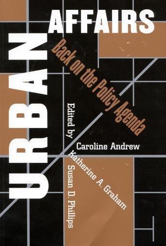 Download Urban Affairs: Back on the Policy Agenda pdf epub