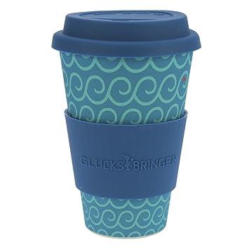 ebos Glücksbringer Coffee-to-Go-Becher aus Bambus | Kaffee-Becher ...