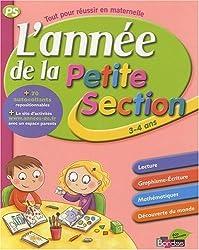 L'année de la Petite Section 3-4 ans