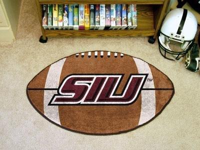Southern Illinois University Football Rug (Rug Shaped University Football)