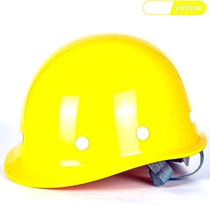 YZJJ Casco de Seguridad Industrial, Casco de construcción rígido ...