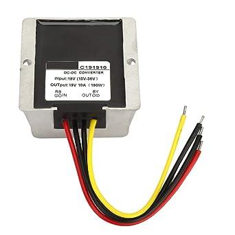 24V to 19V 6A 114W DC-DC Step Down Buck Power Converter Voltage Regulator Module