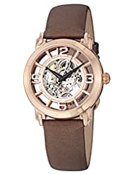 Stuhrling Original Women's 156.124T14 Classic Lady Winchester Analog Display Automatic Self Wind Brown Watch