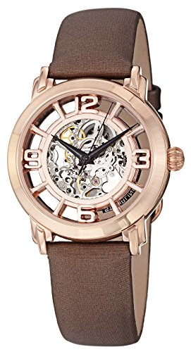 Rose 16k Automatic - Stuhrling Original Women's 156.124T14 Winchester Automatic Skeleton Rose Watch