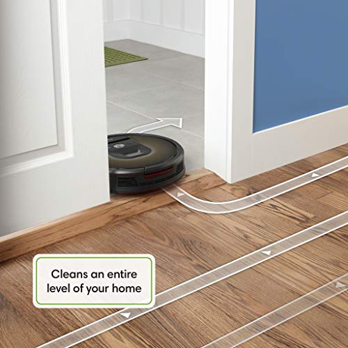 iRobot Roomba 980 Wi-Fi Connected Vacuuming Robot